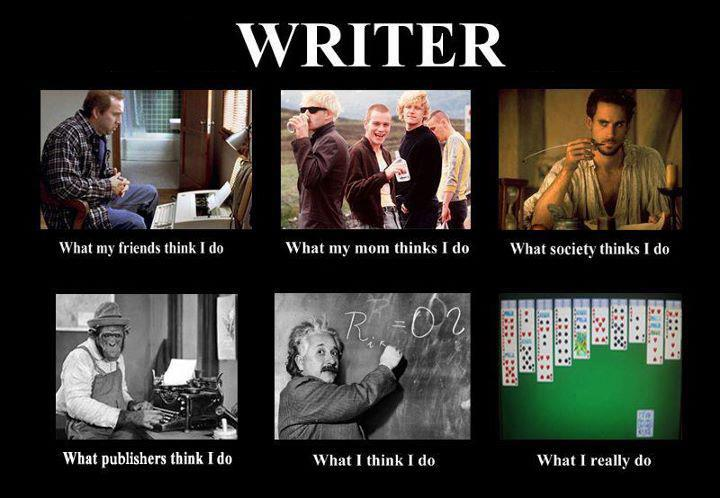 the writing writer