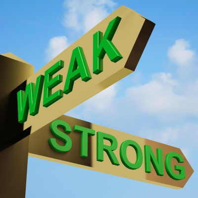 Strong vs weak words part 40 take the ing out of for Farcical sentence examples